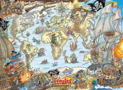 Pirate Map - 200pc Children's by Ravensburger