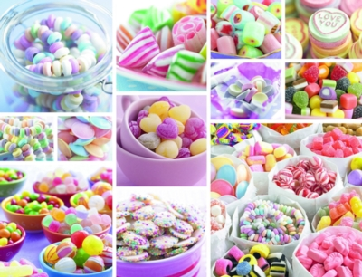 Sweets - 2000pc Jigsaw Puzzle by Ravensburger
