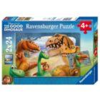 Disney Pixar: The Good Dinosaur - 2 x 12pc Jigsaw Puzzle by Ravensburger