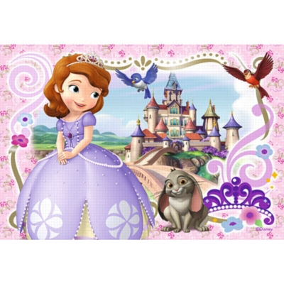 Sofia the First: Sofia's Royal Adventures - 2 x 24pc Jigsaw Puzzle by Ravensburger