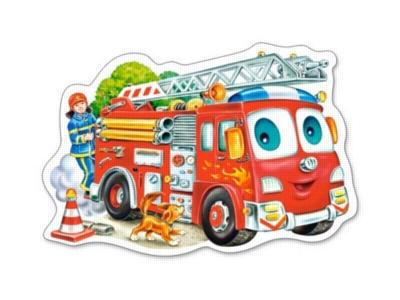 Fire Engine - 15pc Jigsaw Puzzle By Castorland