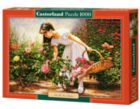 At The Rose Garden - 1000pc Jigsaw Puzzle By Castorland