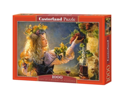 A Bouquet of Pleasures - 1000pc Jigsaw Puzzle By Castorland