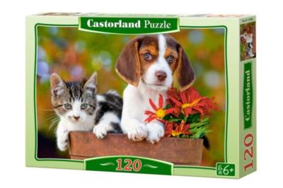 Best Buddies - 120pc Jigsaw Puzzle By Castorland