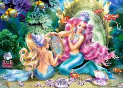Mermaids and Pearls - 120pc Jigsaw Puzzle By Castorland