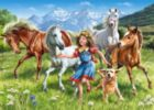 On a Meadow - 120pc Jigsaw Puzzle By Castorland