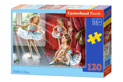 Ballet Class - 120pc Jigsaw Puzzle By Castorland