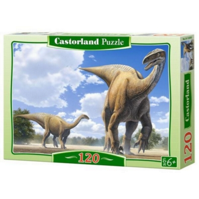 Plateosaurus - 120pc Jigsaw Puzzle By Castorland