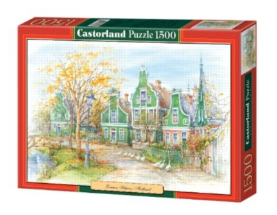Zaanse Schans, Holland - 1500pc Jigsaw Puzzle By Castorland