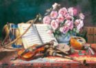A Musical Still Life - 1500pc Jigsaw Puzzle by Castorland