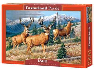 Up the Mountain - 1500pc Jigsaw Puzzle By Castorland