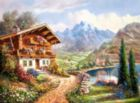 High Country Retreat - 2000pc Jigsaw Puzzle By Castorland