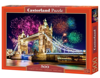 Tower Bridge, England - 500pc Jigsaw Puzzle by Castorland