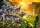 Valley of the Wolves - 500pc Jigsaw Puzzle by Castorland