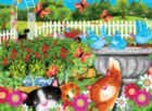 Garden Play Time - 63pc Jigsaw Puzzle by Sunsout