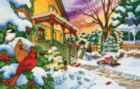 Winter Evening - 100pc Jigsaw Puzzle by SunsOut
