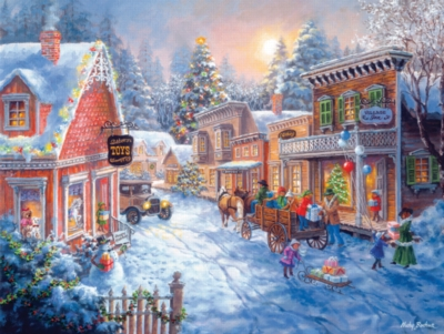 Toy Shop on Main Street - 300pc Large Format Jigsaw Puzzle by SunsOut