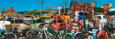 Truck Stop - 500pc Jigsaw Puzzle by SunsOut