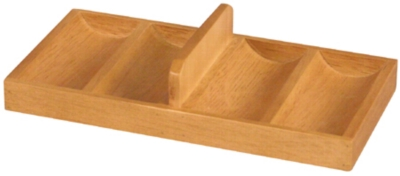 Oak Wood Chip Rack (100 Capacity)