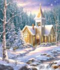 Winter Chapel - 550pc Jigsaw Puzzle by SunsOut