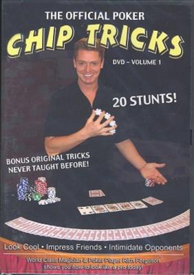 Poker DVD: Rich Ferguson's The Official Poker Chip Tricks