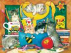 Classroom Kittens - 500pc Jigsaw Puzzle by SunsOut