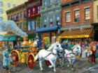 Fire Company No. 1 - 300pc Large Format Jigsaw Puzzle by Sunsout