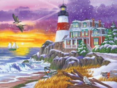 Victorian Light - 300pc Large Format Jigsaw Puzzle by Sunsout