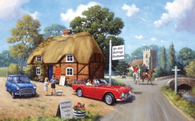 Stop for Tea - 300pc Jigsaw Puzzle by SunsOut