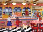 Ice Cream Parlor - 300pc Large Format Jigsaw Puzzle by SunsOut