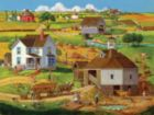 Bringing in the Hay - 500pc Jigsaw Puzzle by SunsOut