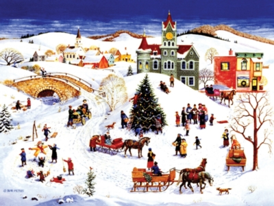 The Community Tree - 500pc Jigsaw Puzzle by Sunsout