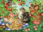 Under the Cherry Tree - 500pc Jigsaw Puzzle by SunsOut