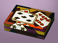 Playing Cards - Double Deck Card Box