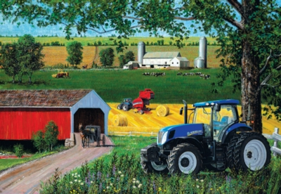 New Holland Lancaster County - 500pc Jigsaw Puzzle by Sunsout