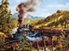 Smoke, Steam and Timber - 500pc Jigsaw Puzzle by SunsOut