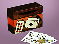Aces and Eights - Single Deck Card Box