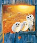 Owls in the Window - 550pc Jigsaw Puzzle by SunsOut