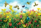 Hummingbird Fields - 550pc Jigsaw Puzzle by SunsOut