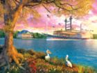 Mississippi Queen - 500pc Jigsaw Puzzle by Sunsout