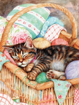 A Soft Place to Rest - 500pc Jigsaw Puzzle by Sunsout