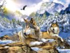 Snow Wolf - 500pc Jigsaw Puzzle by Sunsout