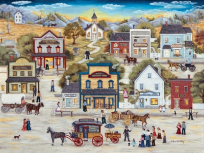 Dr. Miracle's Golden Discovery - 500pc Jigsaw Puzzle by SunsOut