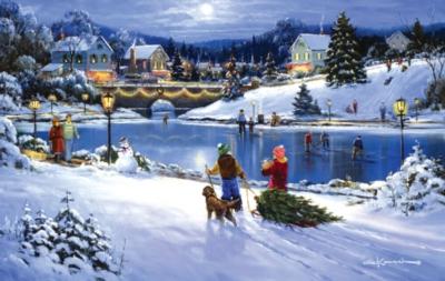 Joyful Season - 550pc Jigsaw Puzzle by SunsOut