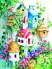 Grandma's Birdhouses - 500pc Jigsaw Puzzle by Sunsout