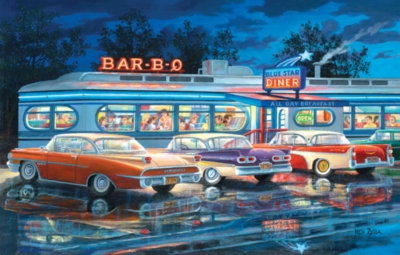 Dining Out - 1000pc Jigsaw Puzzle by SunsOut