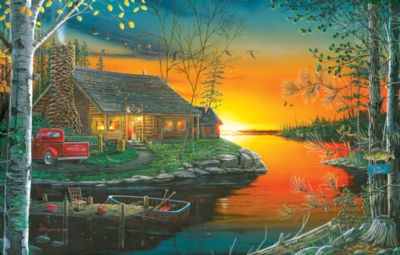Autumn Glow - 1000pc Jigsaw Puzzle by SunsOut