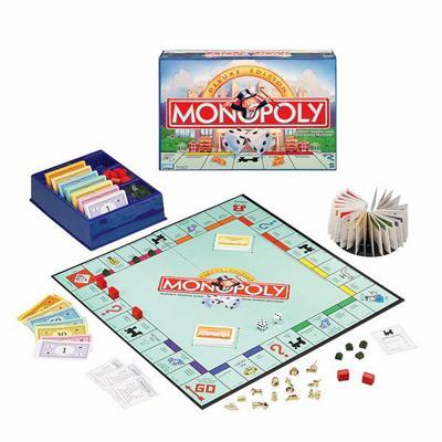 Monopoly: Deluxe Edition - Board Game