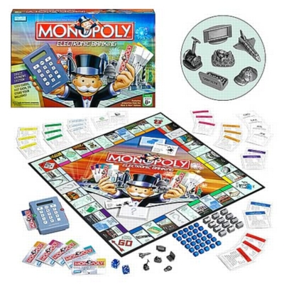 Monopoly: Here & Now Electronic Banking Edition - Board Game