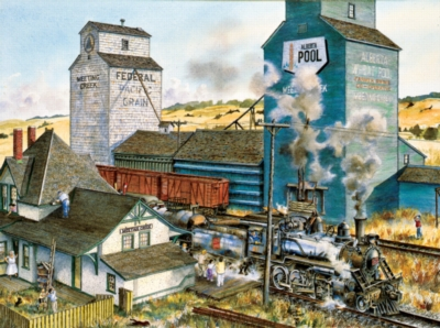 Meeting Creek - 1000pc Jigsaw Puzzle by SunsOut